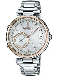 [カシオ]CASIO 腕時計 SHEEN Voyage TIME RING Series スマートフォンリンクモデル SHB-100SG-7AJF レディース