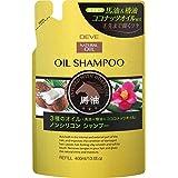 熊野油脂 ディブ 3種のオイルシャンプー(馬油?椿油?ココナッツオイル)400ml