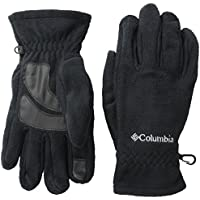 Columbia Thermarator Gants polaire tactile Homme Noir FR : L (Taille Fabricant : L)
