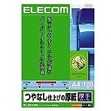 エレコム インクジェット用紙 マット紙 A4 100枚 【日本製】 EJK-SAA4100
