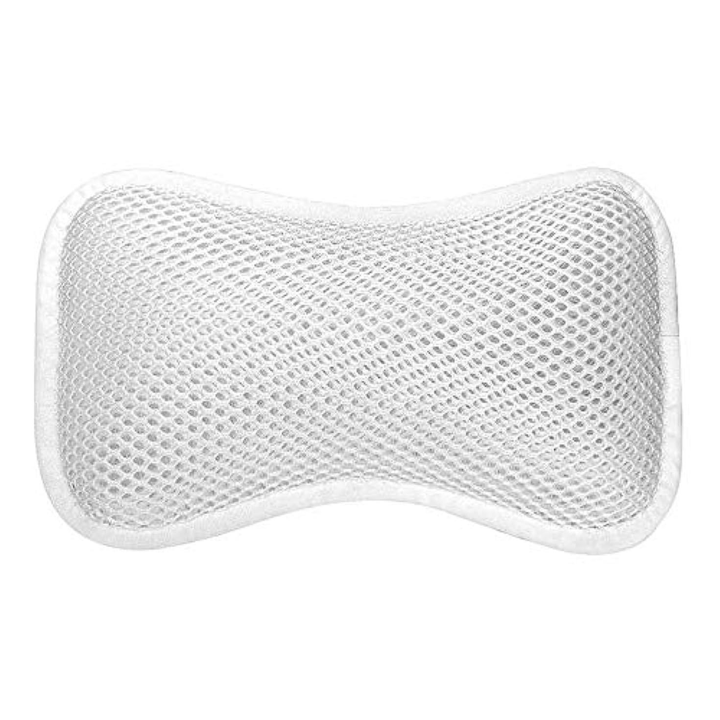 構成する普遍的な周囲3D網の骨の定形バスタブの枕、吸盤が付いている人間工学的の設計滑り止??めの浴槽の枕