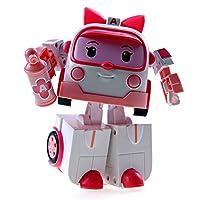 ロボカーポリー Robocar Poli Toy Amber Deluxe Transforming Robot #83095