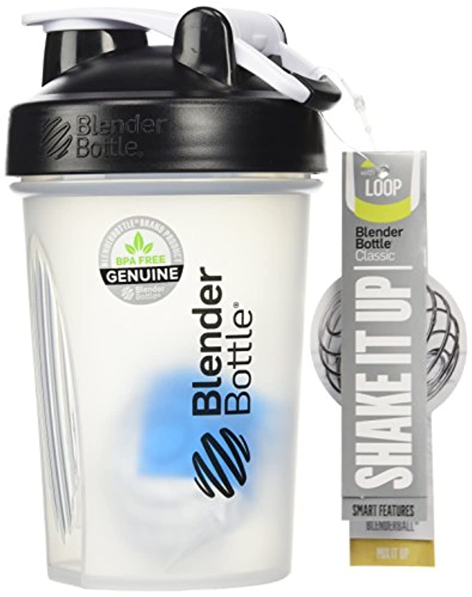 所有者誤解させる雪だるまを作るSundesa Blenderbottle with Blenderball (20oz/Black) by Sundesa