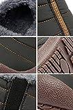 スノーシューズ レディース メンズ 防水 防寒 防滑の綿靴 雪靴 通学 通勤用(グレー 27)