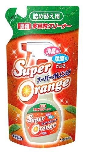 スーパーオレンジ 消臭・除菌 泡タイプ 天然オレンジオイル配...