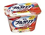 [冷蔵] 明治ブルガリアヨーグルト脂肪0 りんご&白桃+食物繊維 180g