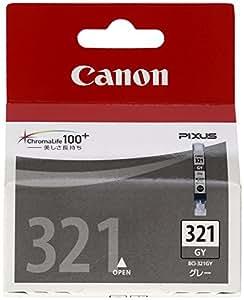 Canon 純正インクカートリッジ BCI-321 グレー BCI-321GY