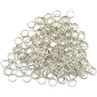 freneci 400pcs Split Rings Fishing Lure Connectors Stainless Steel
