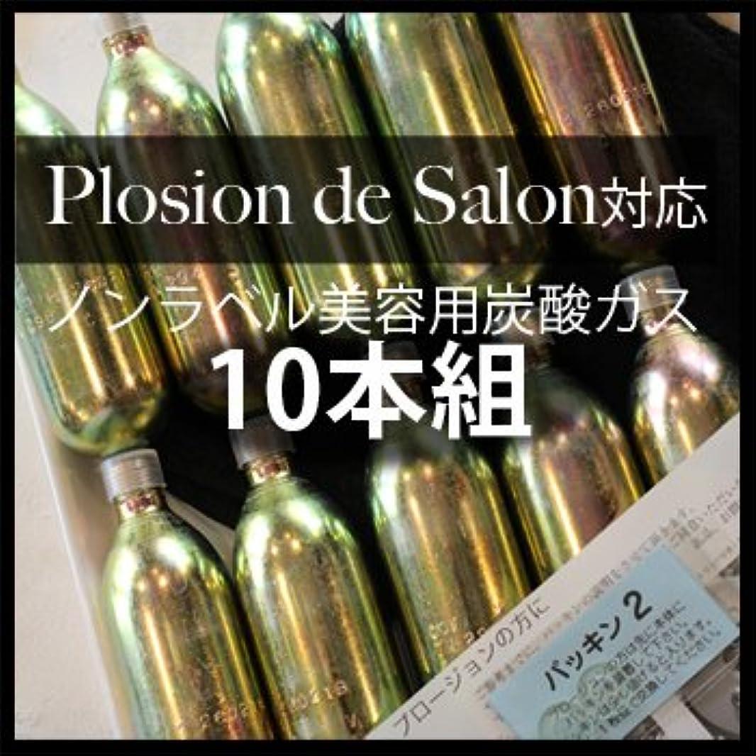 横印象的な可動炭酸ガスカートリッジ(Plosion de salon用)10本