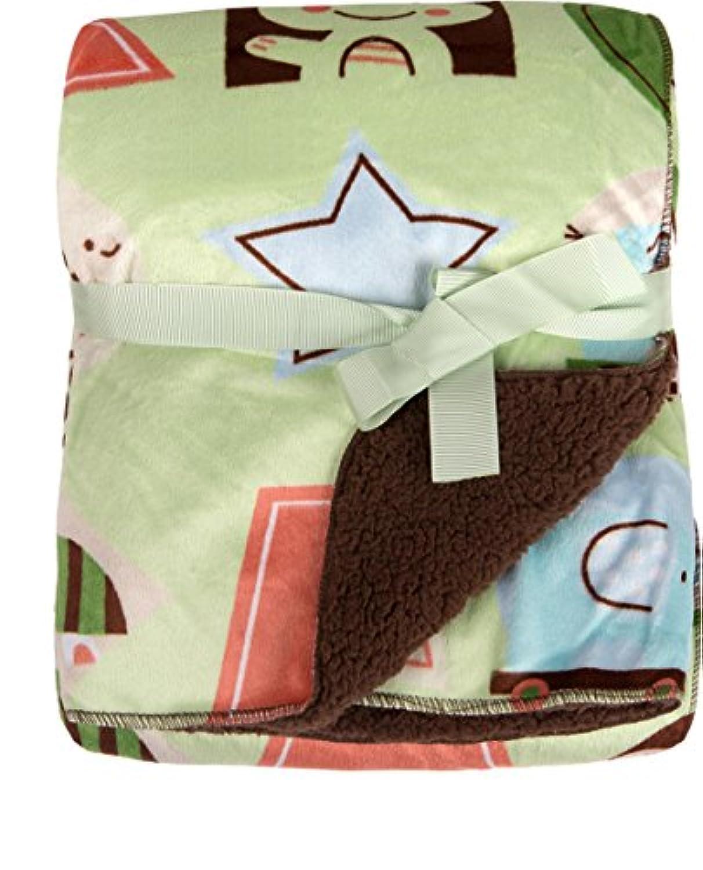 Big Oshi Super Soft Baby Blanket, Green by Big Oshi