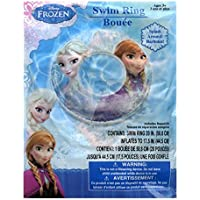Disney Frozen Elsa and Anna Inflatable Swim Ring - 20 inch [並行輸入品]