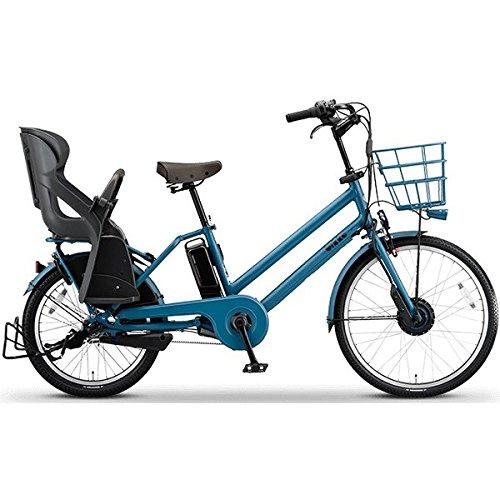 BRIDGESTONE(ブリヂストン) bikke GRI 子ども乗せ電動アシスト自転車 8.1Ah デュアルドライブ アルミフレーム 2017年モデル BG0B36 E.Xリバーブルー
