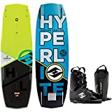 Best HYPERLITE Wakeboardings - HyperliteベースラインBlem Wakeboardメンズ136cmバインディングO/S 8–12 Review