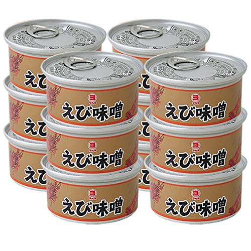 エビみそ えび味噌 えびみそ 缶詰 100g 12個 セット 日本製