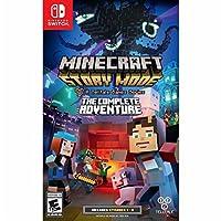 Minecraft Story Mode The Complete Adventure Nintendo Switch ミンクラフトストーリーモード完全アドベンチャー任天堂スイッチ北米英語版 [並行輸入品]