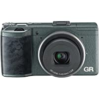 Ricoh GR 16.2 MP Digital Camera with 3.0-Inch LED Back (Limited Edition Green) by Ricoh