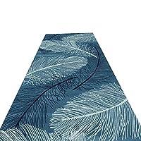 GuoWei-じゅうたん ラグ にとって 回廊 エントランス 廊下 カッタブル 滑り止め 幾何学 現代の 複数のサイズ カスタマイズ可能 (色 : A, サイズ さいず : 0.9x5m)