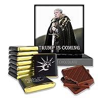 """ファニー・トランプ・ ⚝ チョコレートギフト - ポップス・チョコレート†ドナルド・トランプの甘い未来! チョコレートギフト """"ドナルドトランプの甘い未来""""はすばらしい贈り物です (トランプが来ています)"""