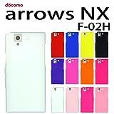 F-02H arrows NX docomo 用 オリジナル シリコンケース (全12色) クリア(半透明) [ ARROWSNX アローズ NX F―02H ケース カバー F-02H arrows nx ARROWS NX ]