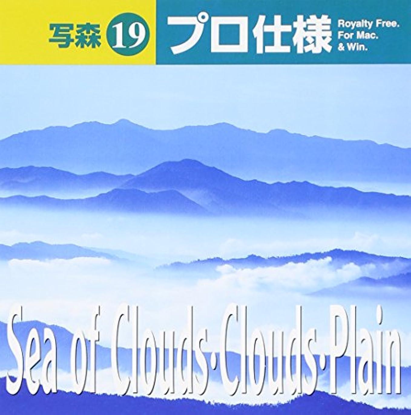 ボイコット木製歌手写森プロ仕様 Vol.19 Sea of Clouds?Clouds?Plain