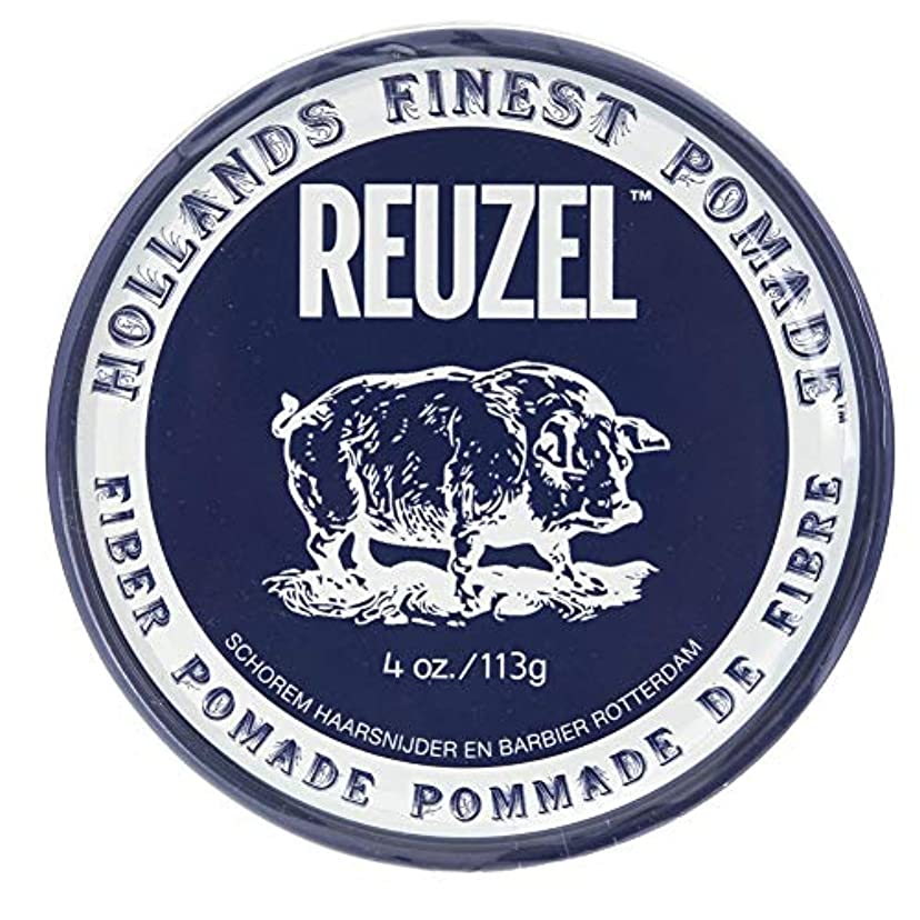 遠い再生可能解釈ルーゾー ネイビー ファイバー ポマード Reuzel Navy Fiber Pomade 113 g [並行輸入品]