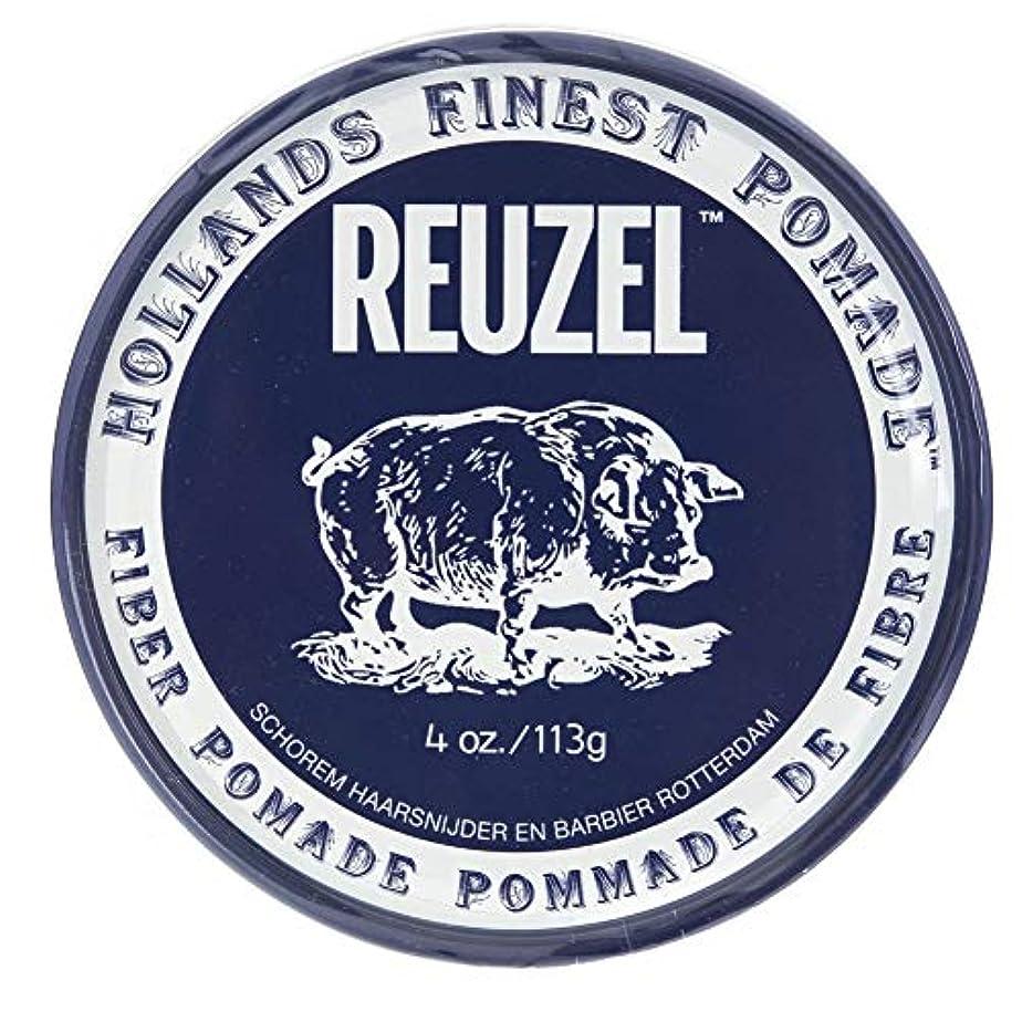 クリアセラフ解明ルーゾー ネイビー ファイバー ポマード Reuzel Navy Fiber Pomade 113 g [並行輸入品]