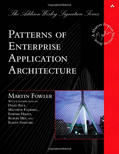 Patterns of Enterprise Application Architecture (Addison-Wesley Signature Series (Fowler))の詳細を見る