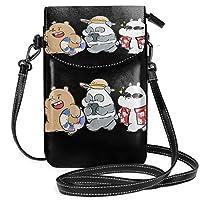 Gottoabag 財布 携帯ケース ワンショルダーバッグ ショルダーバッグ ぼくらベアベアーズ ハワイ 旅行 軽量 斜めがけ 小さめ 斜め掛けバッグ ポケット付きバッグ 通勤 通学