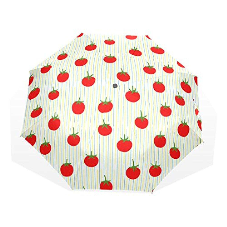 ユキオ(UKIO) 折りたたみ傘 レディース 晴雨兼用 高密度 遮光 手動 遮熱 飛び跳ね防止 梅雨対策 雨傘 日傘 軽量 防風 頑丈 ポテト 収納ケース付