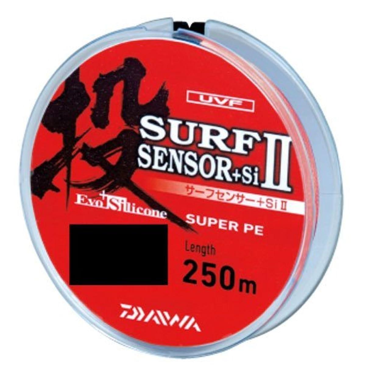 脚本家神話曲ダイワ(Daiwa) PEライン UVF サーフセンサー+Si II 250m 0.4号 マルチカラー