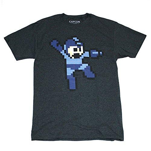 ロックマン ドットTシャツ(D・GREY)-Lサイズ [並行輸入品]