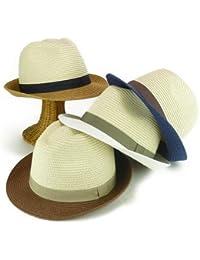 ノーブランド品 ミーチュアルツートンペーパー中折 ヤング帽子