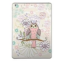 第1世代 iPad Pro 12.9 inch インチ 共通 スキンシール apple アップル アイパッド プロ A1584 A1652 タブレット tablet シール ステッカー ケース 保護シール 背面 人気 単品 おしゃれ アニマル チェック・ボーダー 花 フラワー ピンク フクロウ 008898