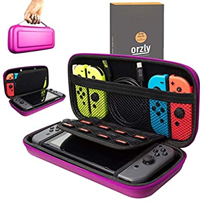 Orzly Carry Case for Nintendo Switch (Please Select Case Color Below)