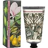 三和トレーディング English Soap Company イングリッシュソープカンパニー KEW GADEN Series キューガーデンシリーズ Luxury Hand Cream ラグジュアリーハンドクリーム Magnolia & Pear