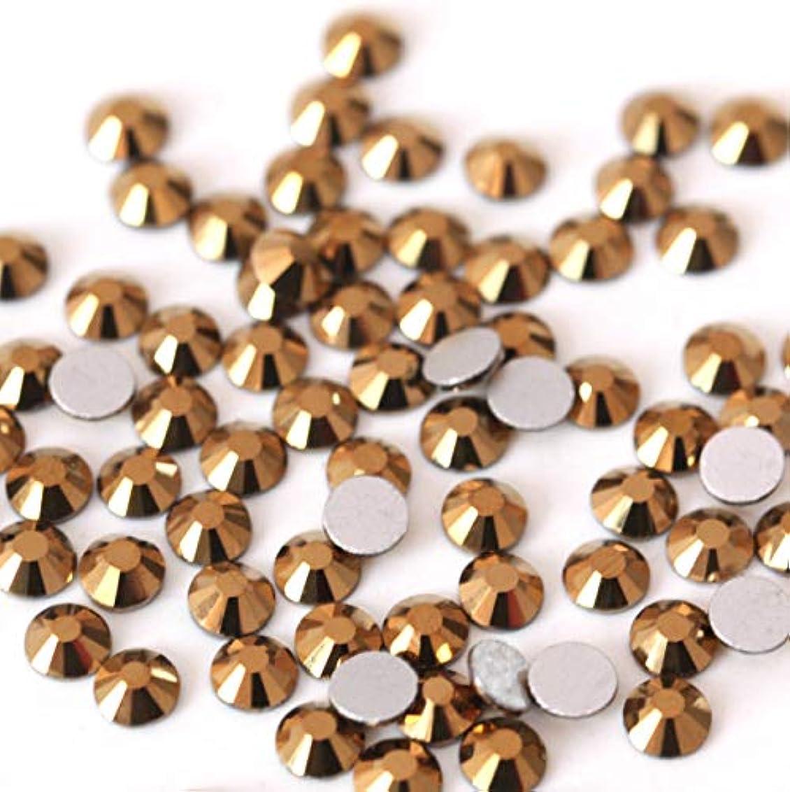 上向きはっきりととても【ラインストーン77】 ガラス製ラインストーン ゴールドマイン 各サイズ選択可能 スワロフスキー同等 (SS20 約120粒)