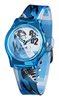 Star Wars Boy's Quartz Analogue Display Watch With White Dial And Blue Plastic