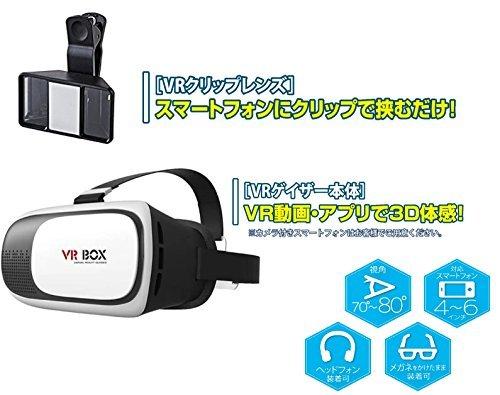 SNARIS VRゴーグル 3D撮影レンズセット  B079DMSQ87 1枚目