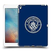 オフィシャルManchester City Man City FC オブシディアン ホワイト・モノクロ バッジ iPad Pro 9.7 (2016) 専用ハードバックケース