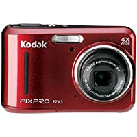 Kodak FZ43 Compact Digital Camera PIXPRO Red