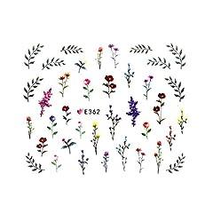 フラワーガーデンシール 【E362】フラワー ボタニカル ドライフラワー 小花柄