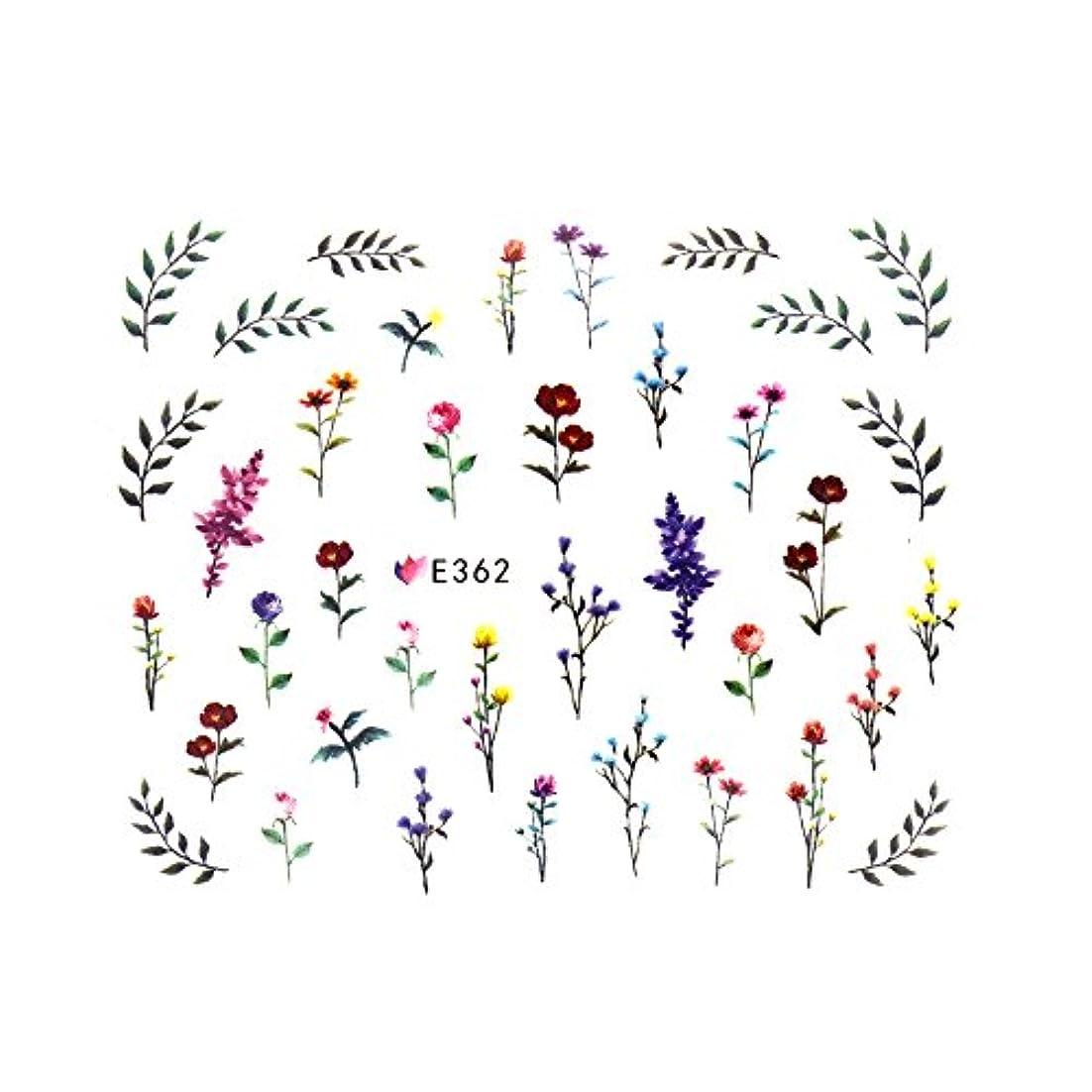 代名詞おもしろい岸フラワーガーデンシール 【E362】フラワー ボタニカル ドライフラワー 小花柄