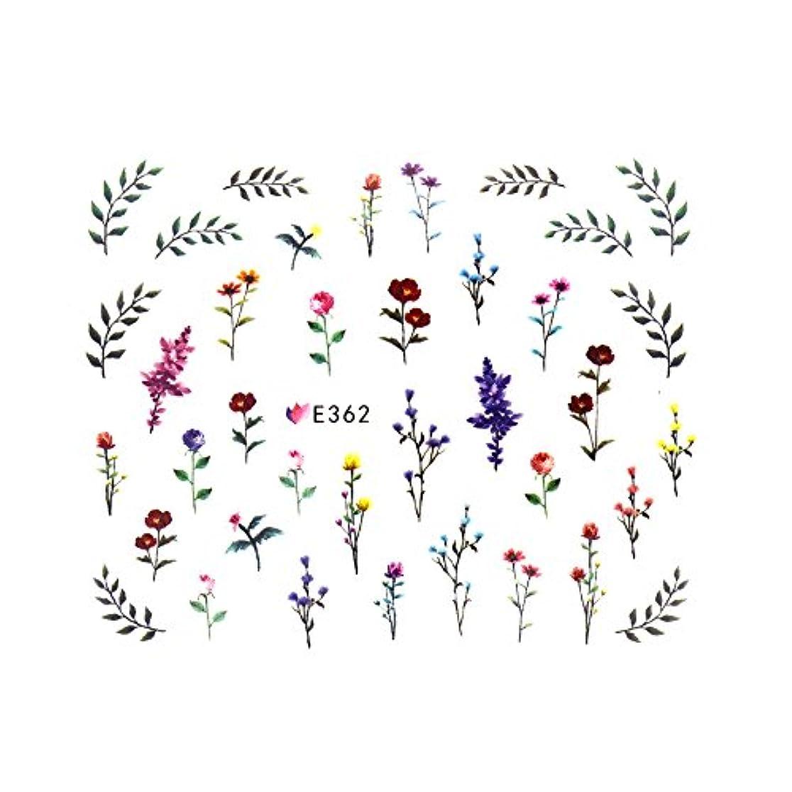 ペニーリズム窒素フラワーガーデンシール 【E362】フラワー ボタニカル ドライフラワー 小花柄
