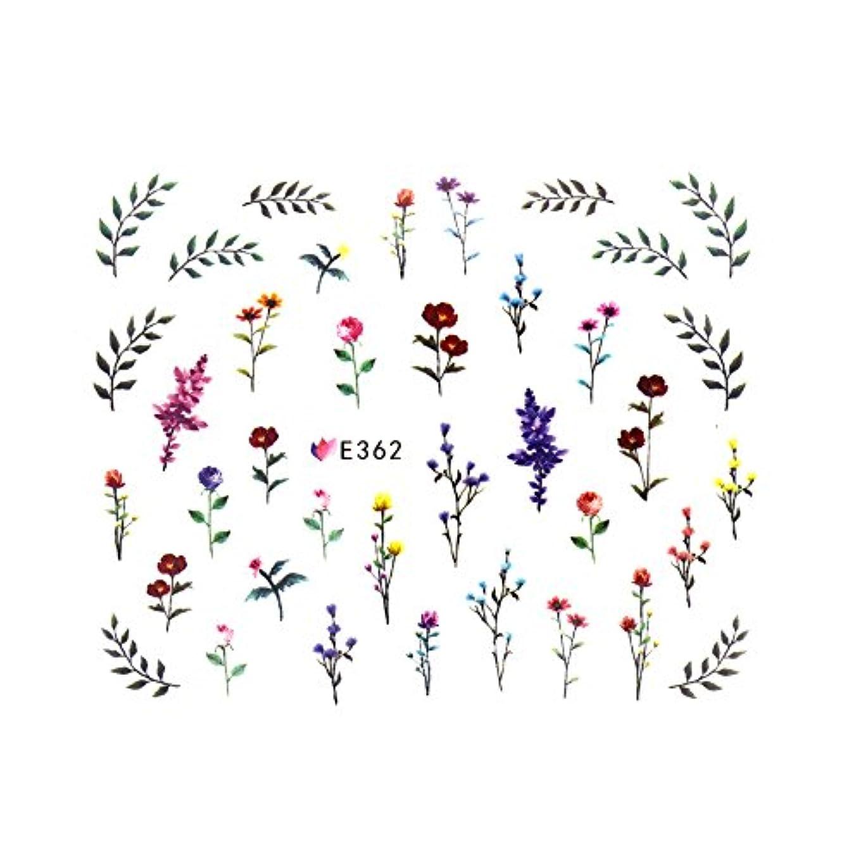 取得する四面体眉フラワーガーデンシール 【E362】フラワー ボタニカル ドライフラワー 小花柄