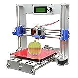 Print 5 materials Geeetech Prusa Reprap Aluminum I3 DIY LCD filament 3D Printer support 5 materials +1KG free PLA filament by Bestlife [並行輸入品]