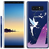 [Breeze-正規品] iPhone ・ スマホケース ポリカーボネイト [透明(BLACK用)] Samsung Galaxy NOTE8 ケース SC-01K/SCV37 兼用 ギャラクシーノート8 galaxy note8 ケースカバー 液晶保護フィルム付 全機種対応 [GNT8]