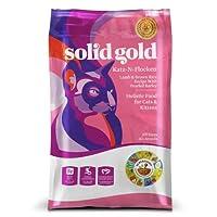 【1kg単位小分け済み品】ソリッドゴールド カッツフラッケン キャット (全年齢猫対応) 5.44kg [並行輸入品]