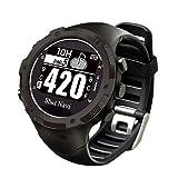 ショットナビ ゴルフウォッチ GPSナビ ゴルフナビ 腕時計型 ブラック W1-GL