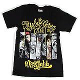 海外製品 Wiz Khalifa ウィズ・カリファ グラフィティ 半袖 tシャツ M [T472] メンズ レディース ロック tシャツ
