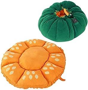 UNIHABITAT(ユニハビタット) ベジタブルベッド かぼちゃ UPB-30P [ ペットベッド マット の2WAY 犬 猫 その他ペットに幅広く利用可能 ]
